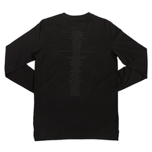 Load image into Gallery viewer, BLACK 25in2020 L/S T.SHIRT