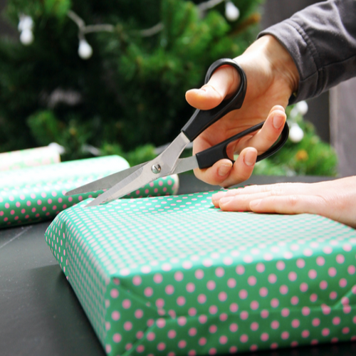 Holiday gift wrapping online orders