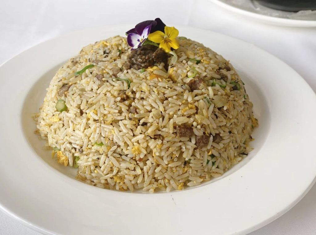 Beef Fried Rice with Black Truffle Sauce