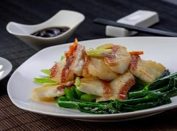Stir-fried Coral Trout Fillet with XO Sauce