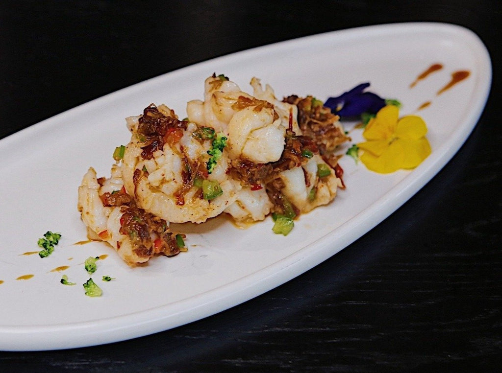 Stir-fried Lobster Tail with XO Sauce