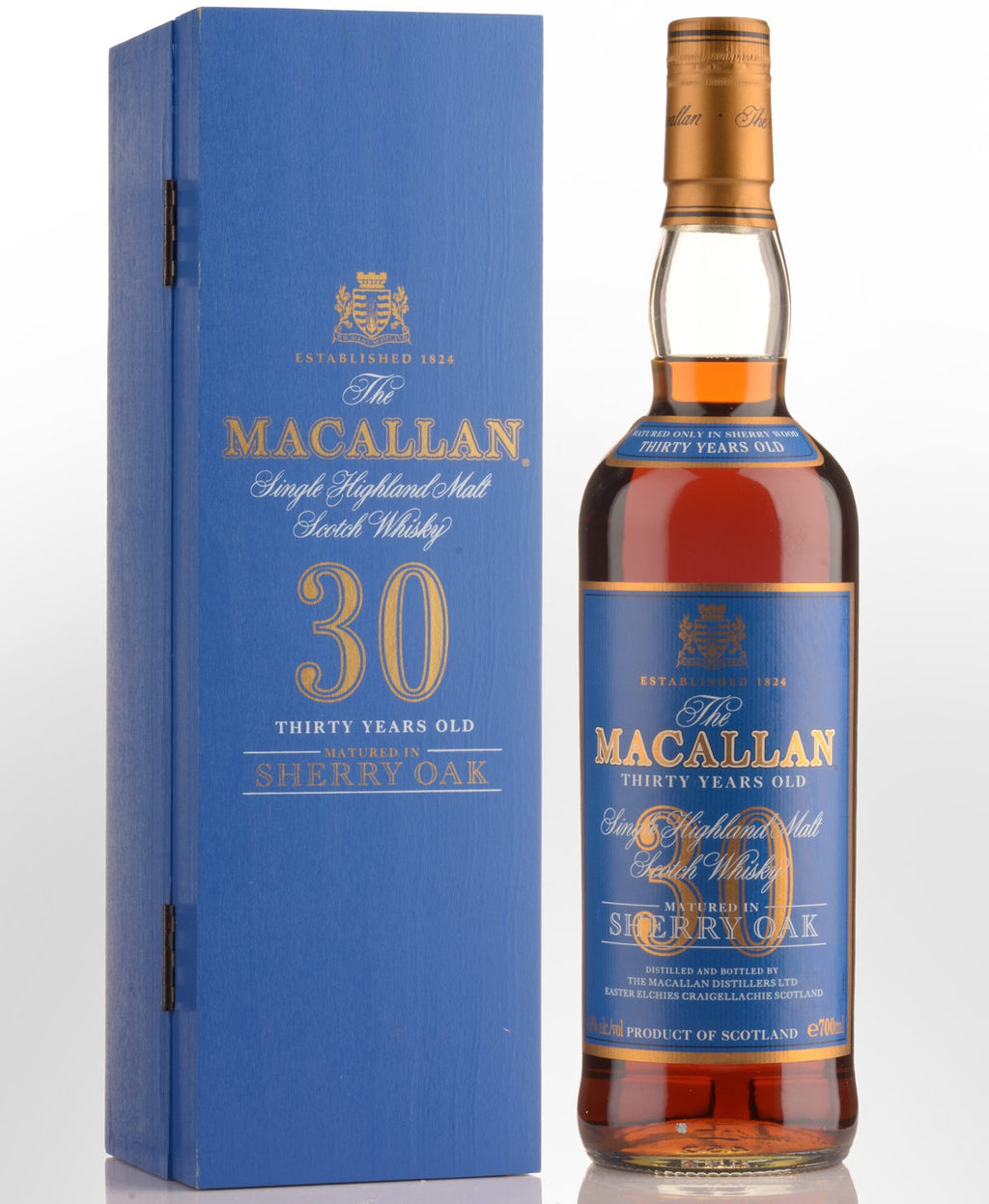 The Macallan 30 Year Old Sherry Oak Cask Single Malt Whisky, Scotland