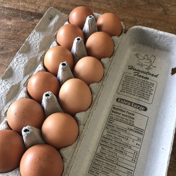 Eggs free run large Homestead