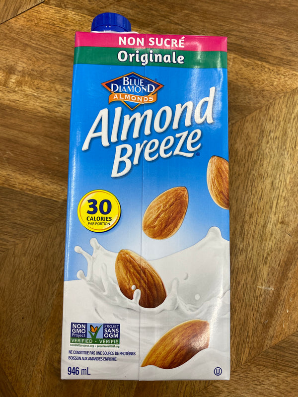 Breeze Almond Milk 1 litre