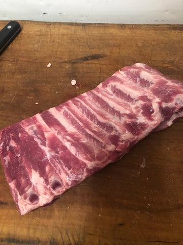 Pork Side Ribs (1 rack)