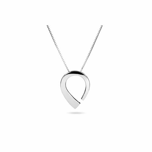 Rounded silver jewellery in Scandinavian design