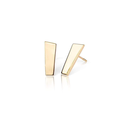 Exclusive gold earrings from the Pulpit Rock collection by Ekenberg Scandinavia