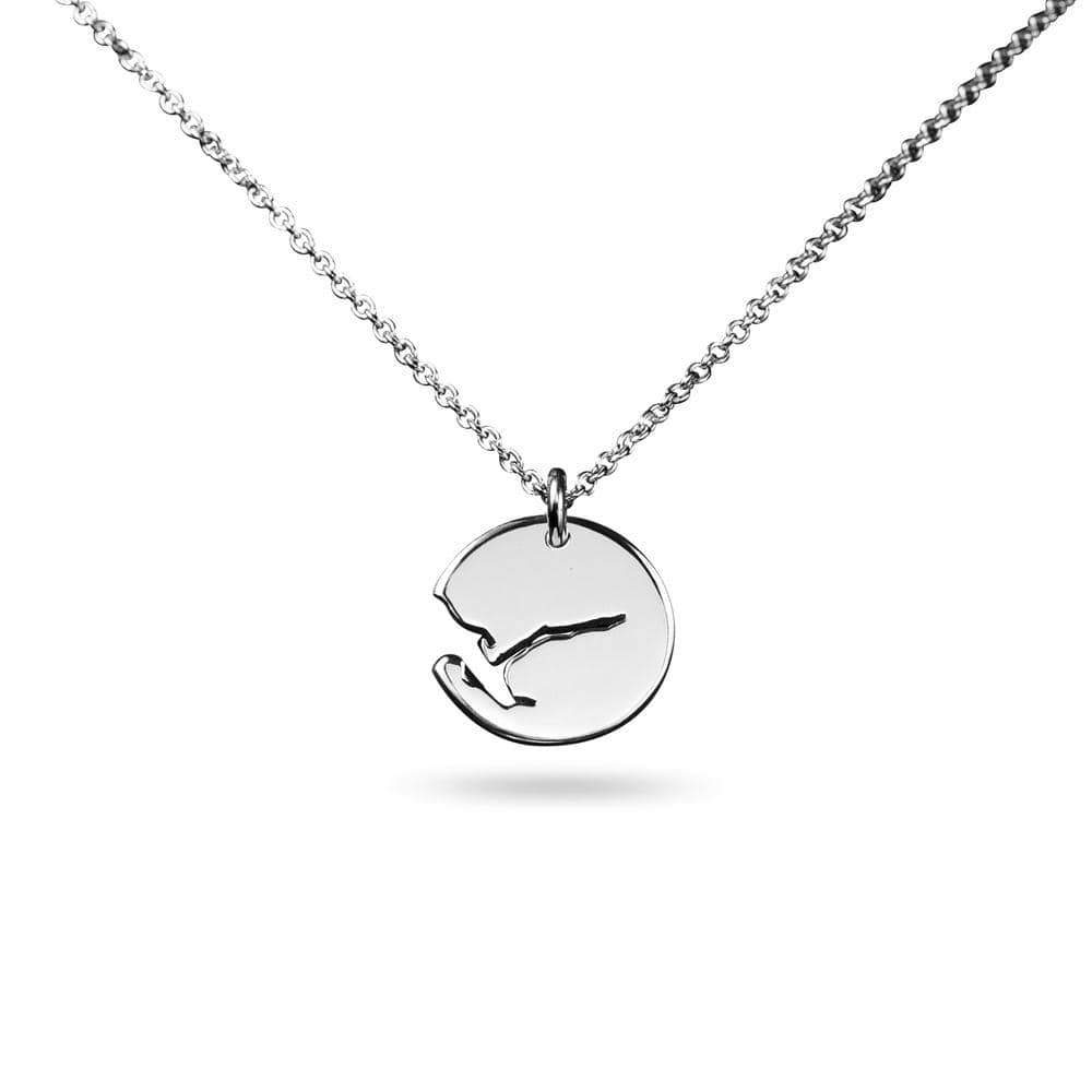 Norwegian made fjord necklace - Fjords of Norway collection