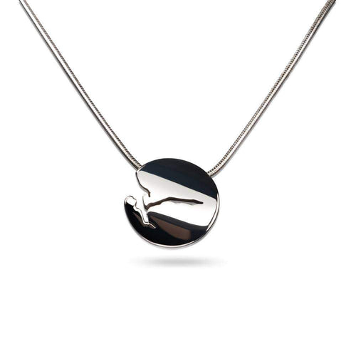 Norwegian made rounded fjord necklace - Fjords of Norway collection