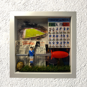 "Shadow Box ""Mondo calcio"" - NONèdabuttare"