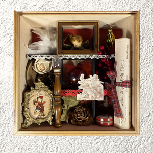 "Shadow Box ""Merry Christmas Night"" - NONèdabuttare"