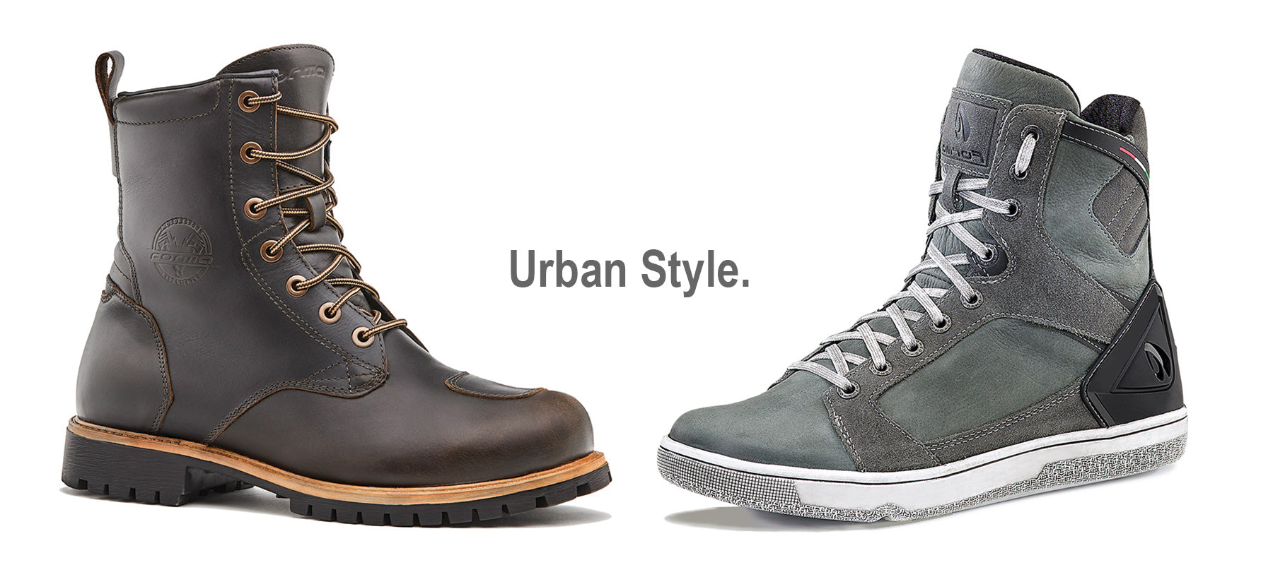 Forma boots motorcycle urban city home world support global usa australia canada