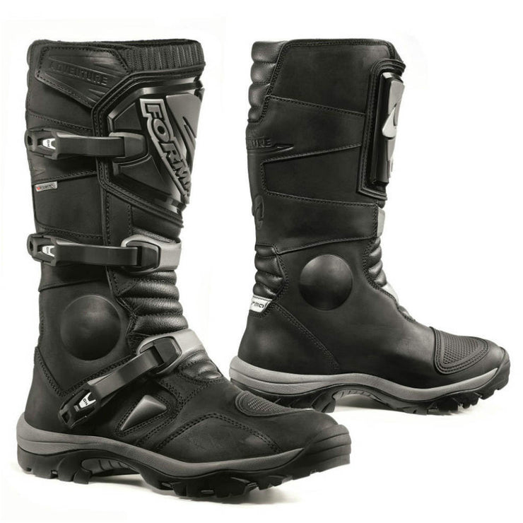 Forma Adventure motorcycle boots black