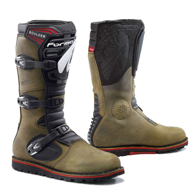 Forma Boulder motorcycle boots brown