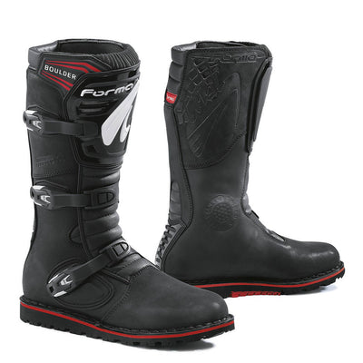 Forma Boulder motorcycle boots black