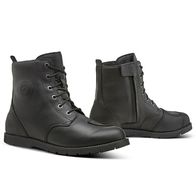 motorcycle boots Forma Creed urban city fashion protection waterproof