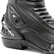 Forma Axel motorcycle boots black heel protection