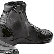 Forma Axel motorcycle boots black zip velcro closure