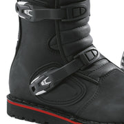 Forma Boulder motorcycle boots black ankle protection heel
