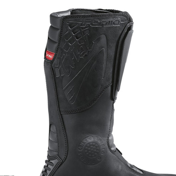 Forma Boulder motorcycle boots black heat protection