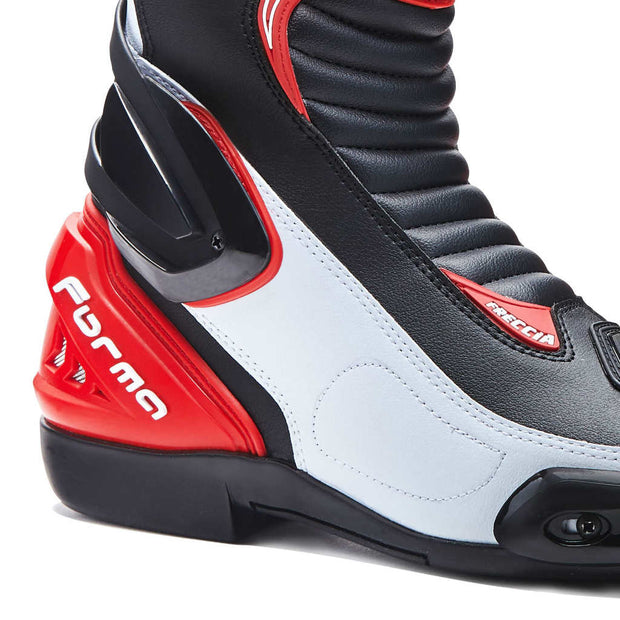 Forma Freccia motorcycle boots, red, ankle