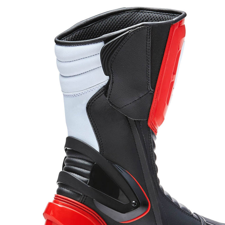 Forma Freccia motorcycle boots, red, zip velcro