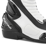 Forma Freccia motorcycle boots, white, ankle