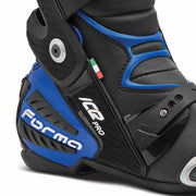 motorcycle boots | Forma Ice Pro racing black blue ankle protection