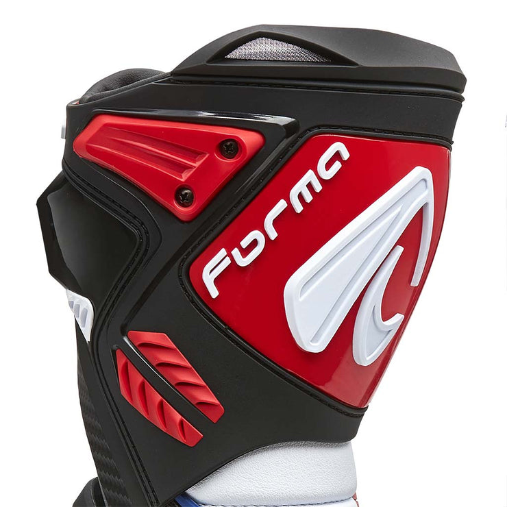 motorcycle boots | Forma Ice Pro Flow, racing motogp petrucci red shin protection