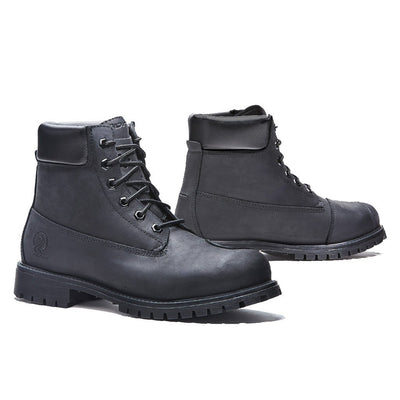 motorcycle boots | Forma Elite urban black city street commuter
