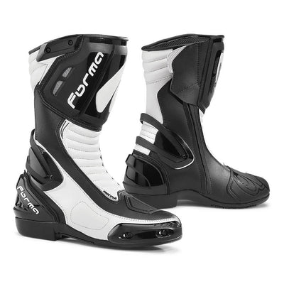 Forma Freccia motorcycle boots, white