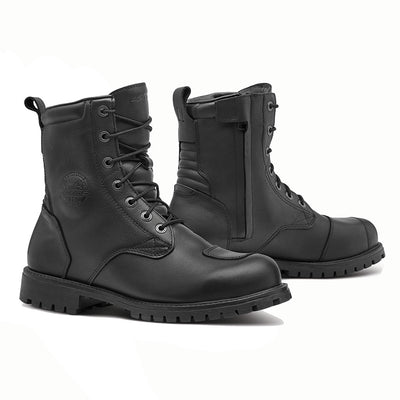 motorcycle boots Forma Legacy black urban city street usa