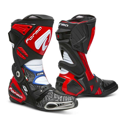 motorcycle boots | Forma Ice Pro Flow, racing motogp petrucci red home factory usa