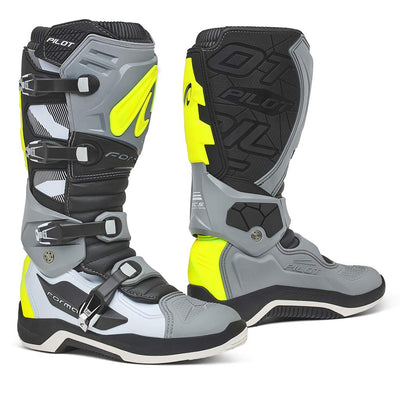 motocross boots new forma pilot pivot tech motorcycle racing sg 10 12 7 gray