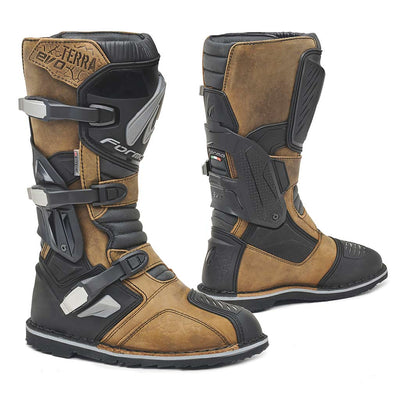 motorcycle boots, Forma Terra Evo X adventure adv dual sport riding