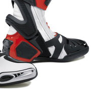 forma ice pro motorcycle boots red toe protection