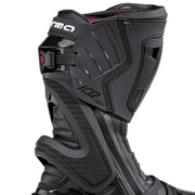 forma ice pro motorcycle boots black zip velcro rachet closure
