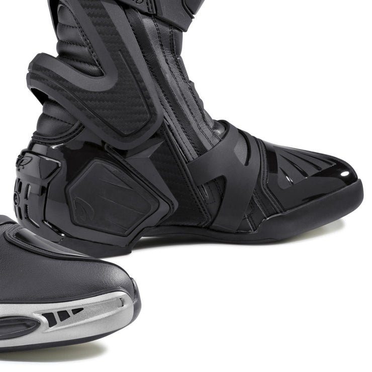 forma ice pro motorcycle boots black toe protection