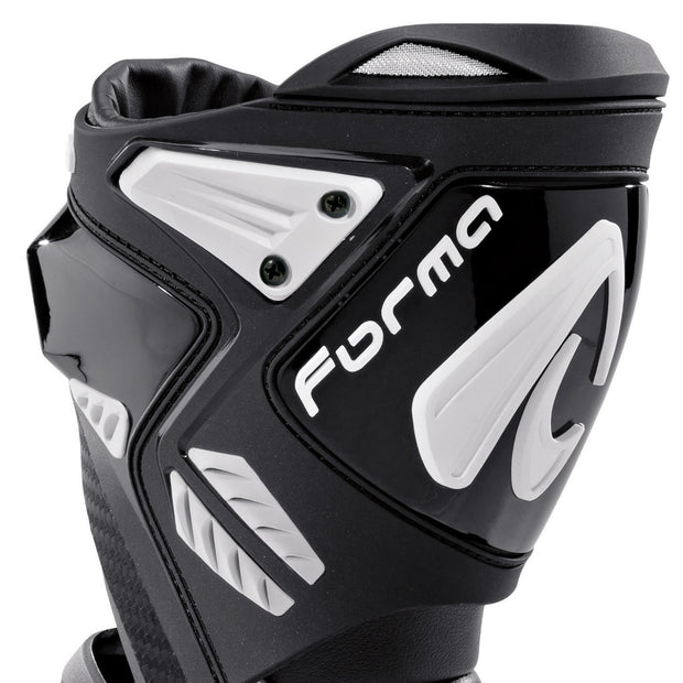 forma ice pro flow motorcycle boots black shin protection