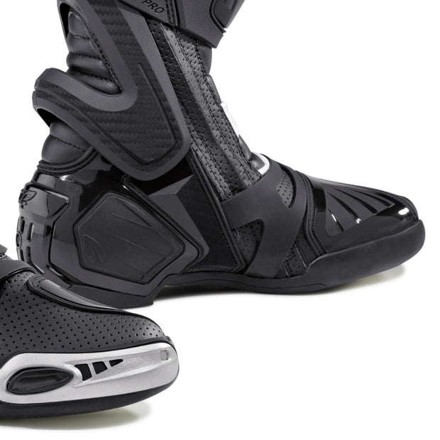 forma ice pro flow motorcycle boots black toe protection