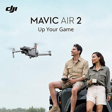 "Load image into Gallery viewer, DJI Mavic Air 2 Fly More Combo - Drone Quadcopter UAV with 48MP Camera 4K Video 8K Hyperlapse 1/2"" CMOS Sensor 3-Axis Gimbal 34min Flight Time ActiveTrack 3.0 Ocusync 2.0, Gray"