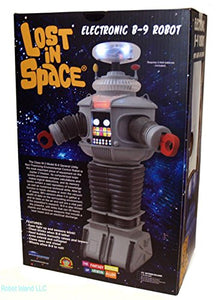Diamond Select Toys Lost in Space: Electronic Lights and Sounds B9 Robot Figure,Multi-colored,10 inches