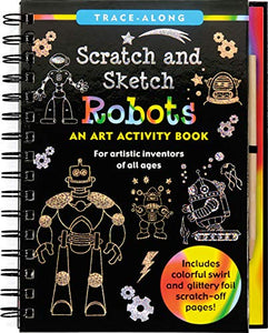 Scratch and Sketch Robots - Trace Along (Scratch & Sketch)