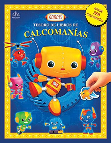 Robots (Tesoro de libro de calcomanias) (Spanish Edition)