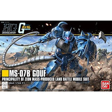 Load image into Gallery viewer, Bandai Hobby HGUC Gouf Revive Mobile Suit Gundam Building Kit (1/144 Scale), Multi-Colored, 8""