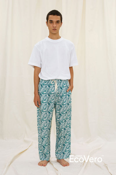 Parigi Men Pajama Pants in Wave