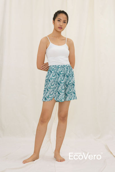 Kawa Pajama Bottom in Wave