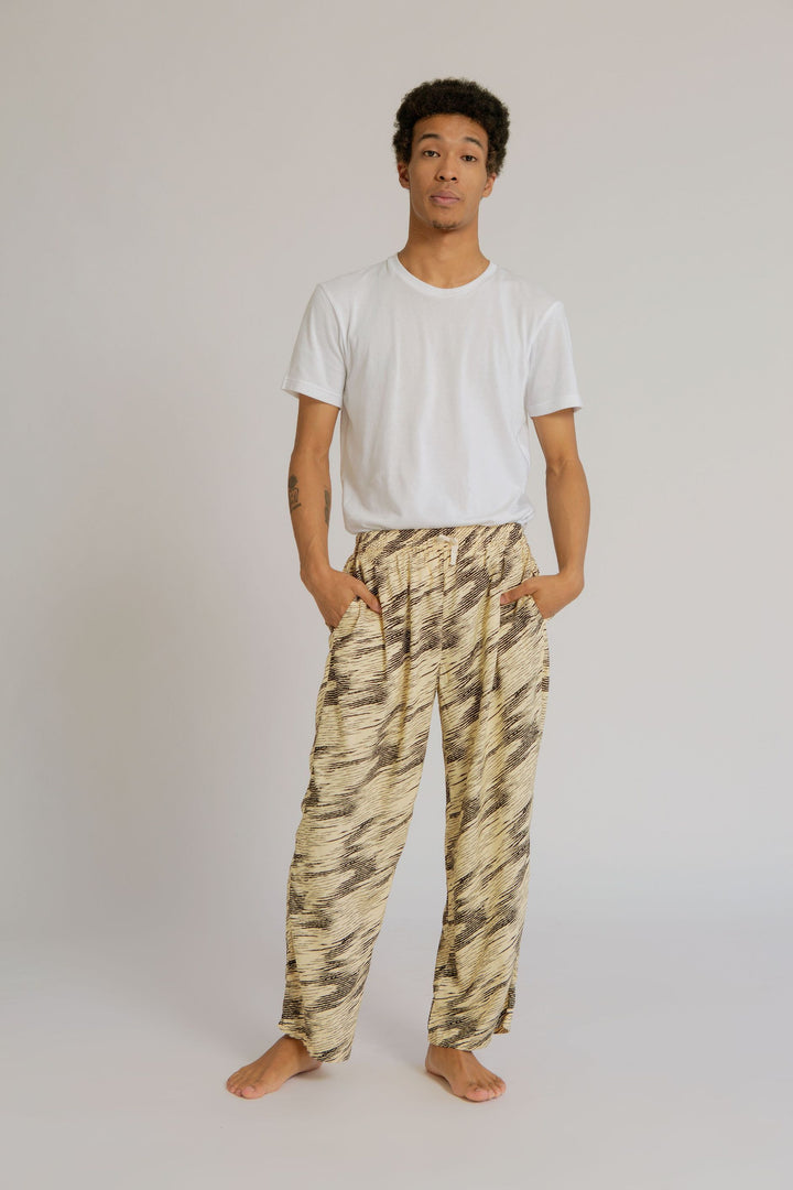 Parigi Men Pajama Pants in Zebra