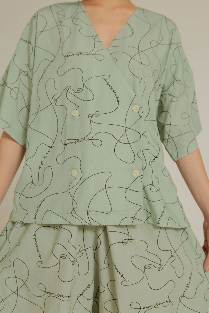 Apu Boxy Pajama Top in SS Line