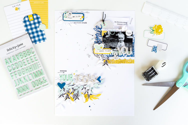 You & Your Tools layout with the Sarah Collection | Ulrike Dold